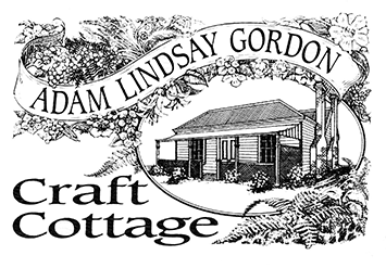Logo for Adam Lindsay Gordon Craft Cottage